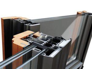 Infissi in legno-alluminio Parma